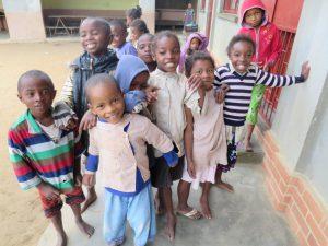 Enfants orphelins d'Ankazobe