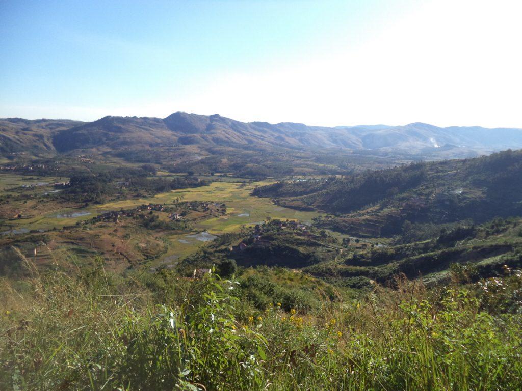 Marana : Vue sur la plaine
