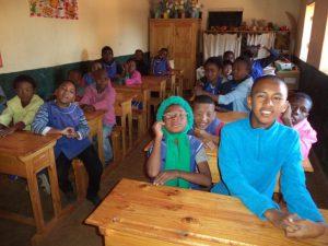 En classe - Fianarantsoa