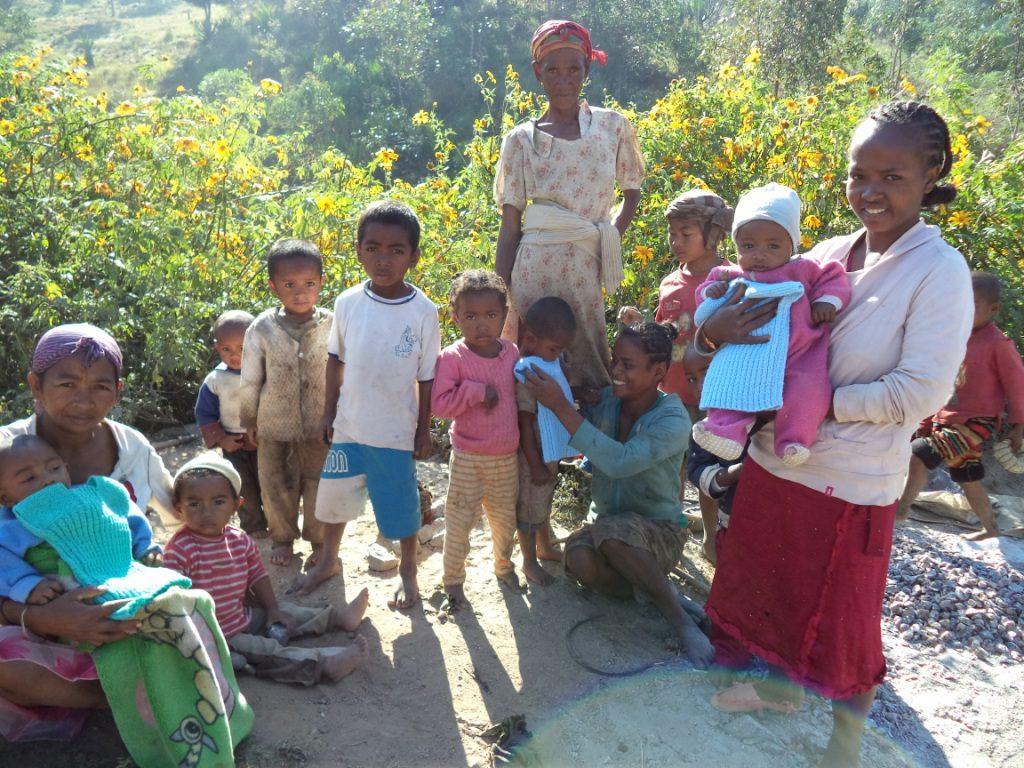Beau cadeau des tricoteuses - Fianarantsoa