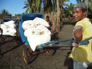 Transporteur de sacs de farine - Farafangana