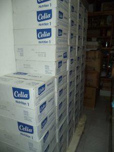 Stock de lait - Fanantenana