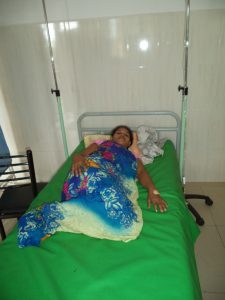 Mahabo - patiente en ambulatoire
