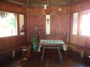 Ile de Bétania, la petite chapelle des soeurs