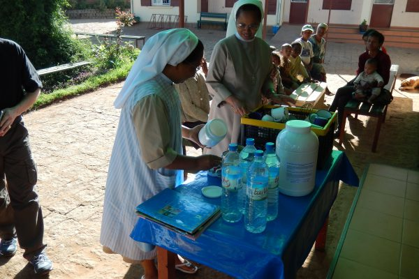 Miaramasoandro, préparation boisson Prodiétic