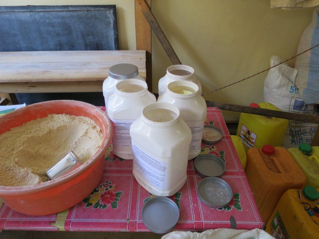 Ambohimirary, aliment Prodiétic et farine de riz pilé