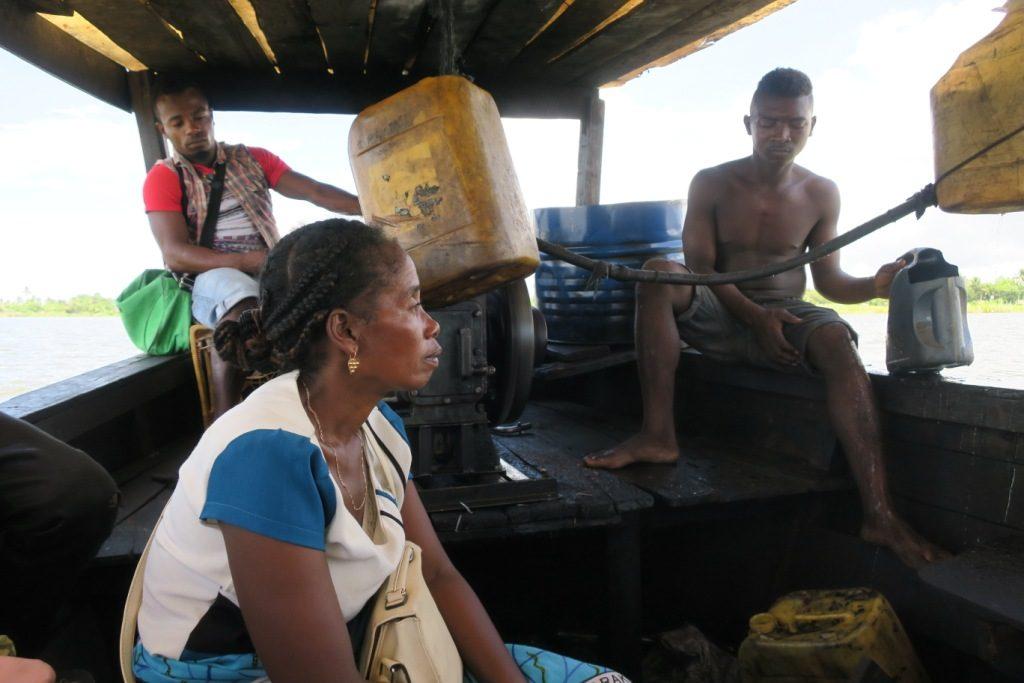 Farafangana-tangainony-la machinerie du canot