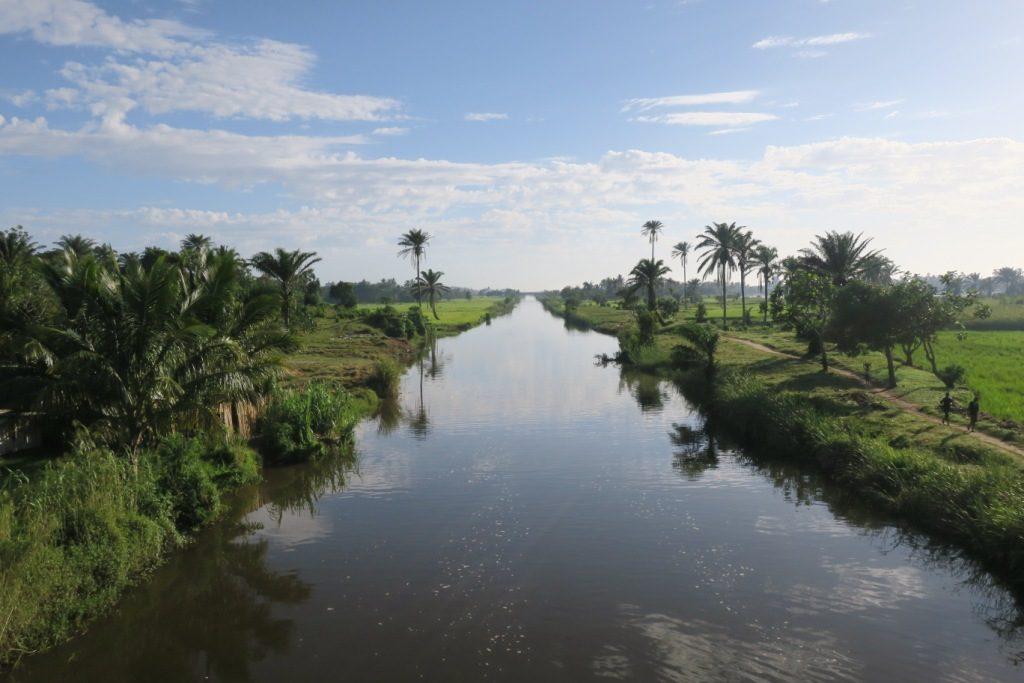 Mananjary-canal des Pangalanes.