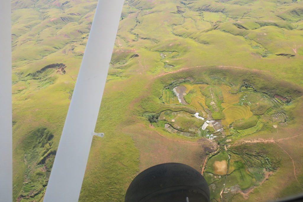 tsiroanomandidy-antsalova vue d'avion