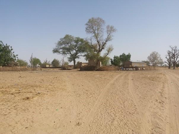 Village de brousse sous la responsabilité du poste de santé de Mbar